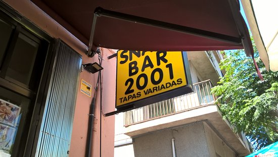 2001 restauarant snac bar la jonquera restaurant for Restaurant la jonquera