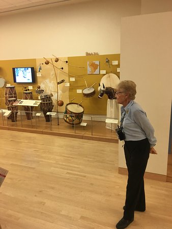 Musical Instrument Museum : Guided tour. Free at 1100 am  brilliant