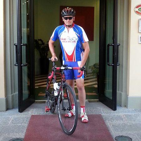 Hotel Rex: Top per noi ciclisti!