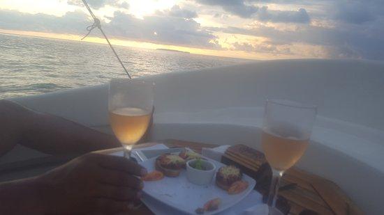 Copa de Arbol Beach and Rainforest Resort: Enjoying the sunset