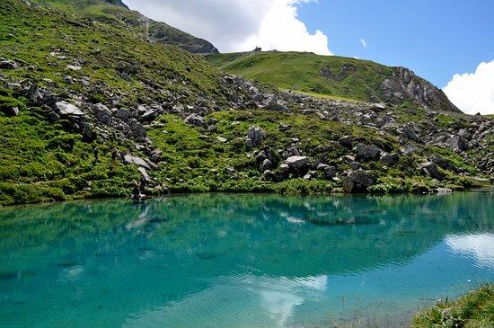 La Léchère, France : Lac bleu,