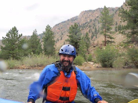 Nathrop, Colorado: On the Arkansas, in between rapids