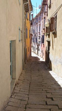Labin, Kroatië: Ruelles