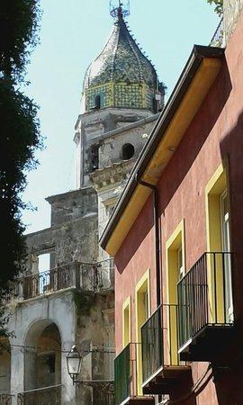 Il centro storico di Teano