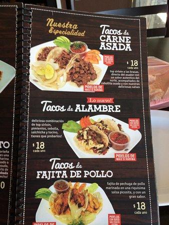 Apodaca, เม็กซิโก: The easy to understand menu, even if you do not speak Spanish.