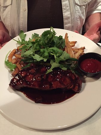 29 South Eats: Steak special. The sauce was wonderful