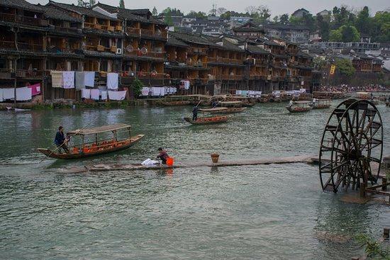 Fenghuang County, Chine : обычная жизнь