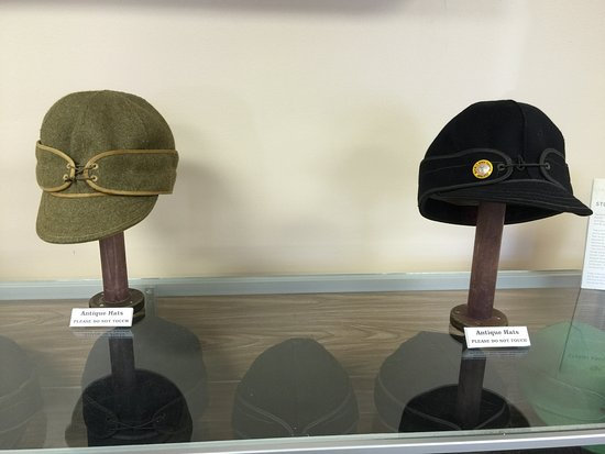 Ironwood, MI: Hats made by Stormy Kromer Company
