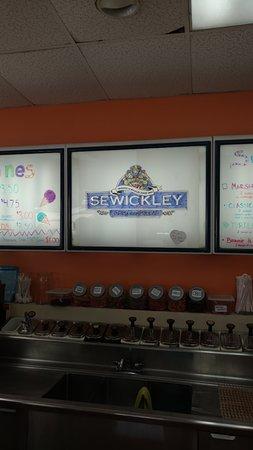 Sewickley, PA: inside name plate
