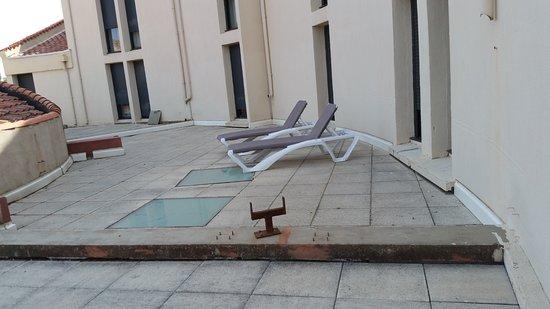 """Alenya, ฝรั่งเศส: Le """"balcon"""" de la chambre"""