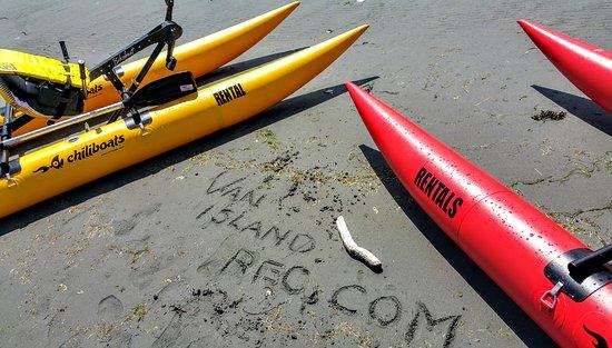 Nanaimo, Kanada: Bikeboat Rentals