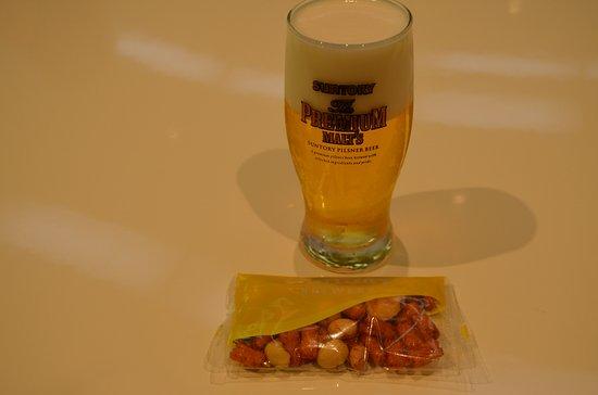 Nagaokakyo, ญี่ปุ่น: プレミアム・モルツの試飲です