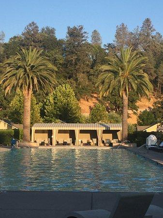 Solbar - Solage Calistoga: The pool at Solage Calistoga