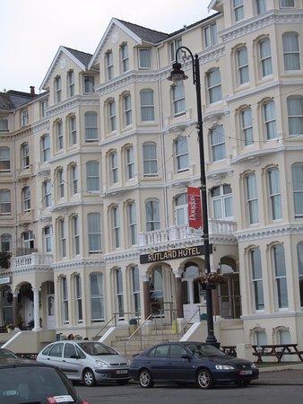 The Rutland Hotel: Facing the bay