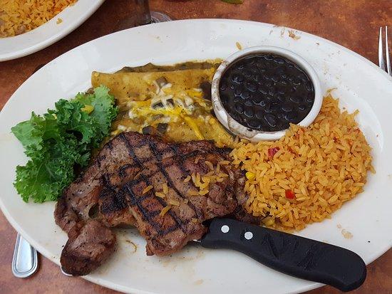 Peoria, Αριζόνα: Ribeye & Carnitas Enhilada's