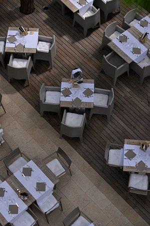 Hotel Mediterraneo: Terrazza ristorante