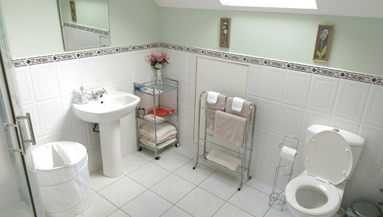 Clunelly House: Massive room with massive ensuite bathroom! Very happy!