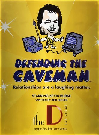 Defending The Caveman : A fun couples night out. Go see it!