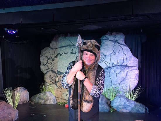 """Kevin Burke, the star of """"Defending the Caveman."""""""
