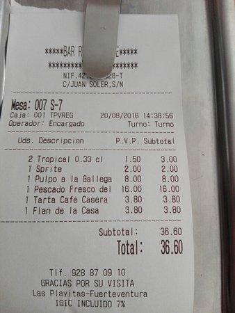 Las Playitas, Spanyol: IMG_20160820_140107_large.jpg