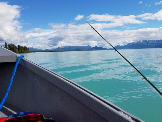Cooper Landing, AK: this is where I caught and released my first 40 pound king salmon!