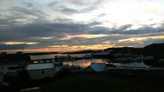 Stykkisholmur, Islanda: View from room