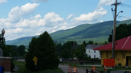 From the North Adams end of the trail by the visitors center.