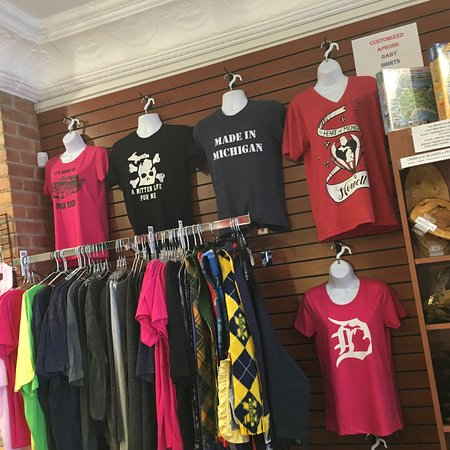 Downtown Howell - Lots of Great Michigan Merchandise.