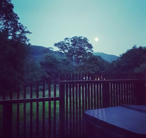 Callander, UK: View from the deck