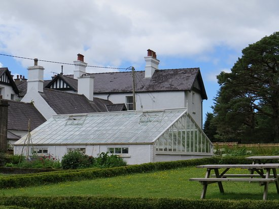 Kenmare, Irland: Derreen house and greenhouse - near coffee shop