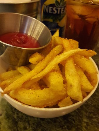 Oval: fries