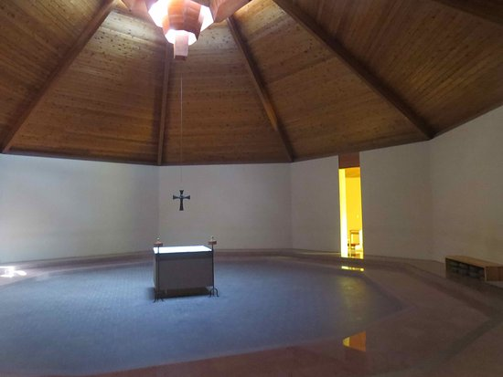 New Camaldoli Hermitage: Inside the Chapel