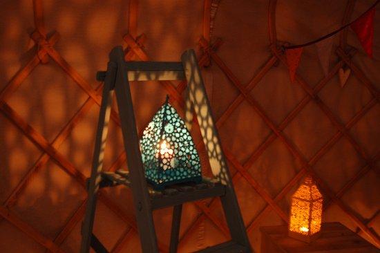 Dolanog, UK: Pretty lanterns!