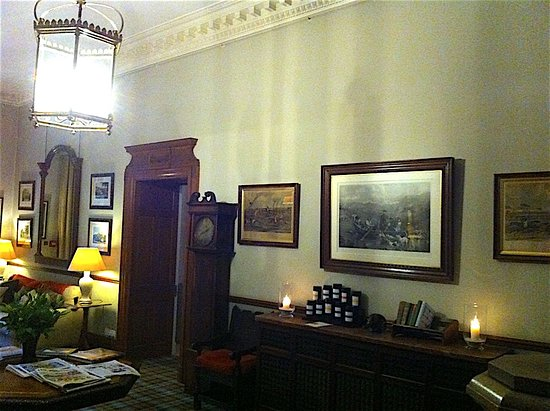 Heiton, UK: One of the public rooms in the hotel.
