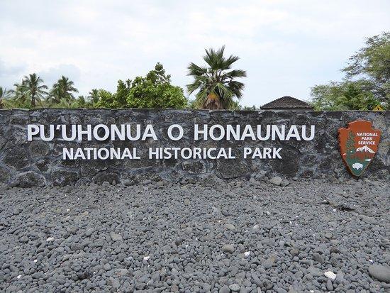 Honaunau, Гавайи: Park Entrance