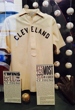 Cooperstown, NY: Cy Yong jersey.
