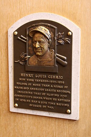 Cooperstown, NY: Love you, Lou!