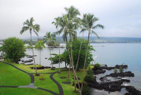 Grand Naniloa Hotel : View of Hilo Bay
