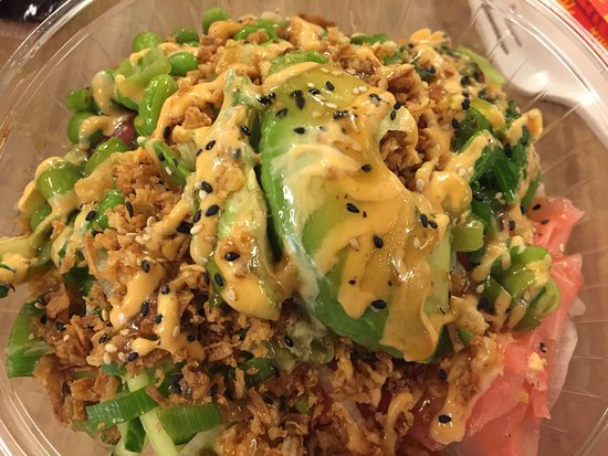 Close to the best poke you will find outside of Hawaii & California