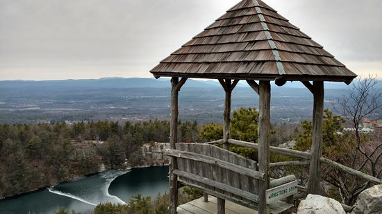 Mohonk Mountain House: Hiking along the many trails.