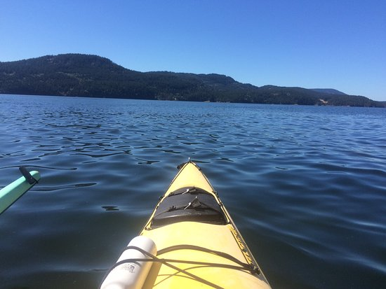 Eastsound, WA: kayaking out of Rosario Beach