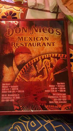 Stephenville, TX: Don Nico's