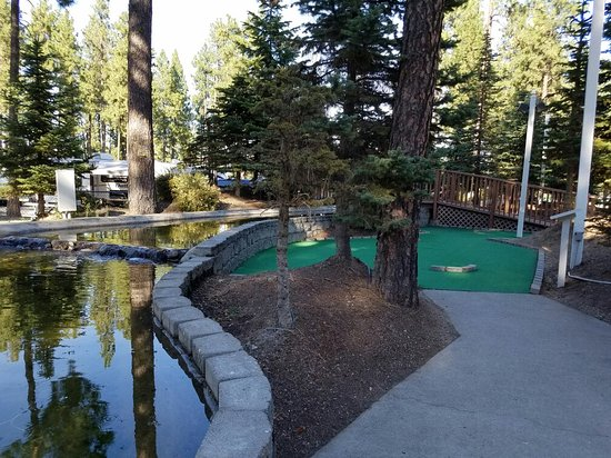 Cheney, WA: Mini golf, basketball & tennis courts and one of the picnic areas by the kids play toys