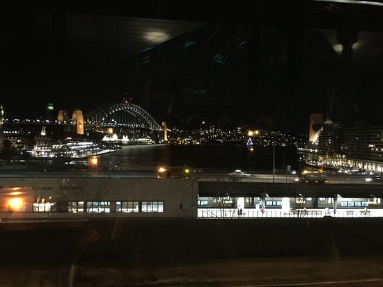Cafe Sydney: Views from balcony table