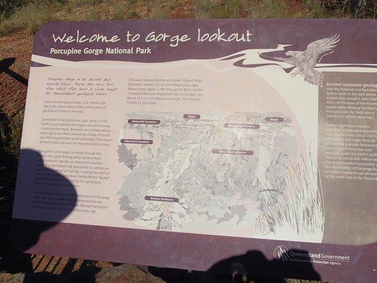 Hughenden, ออสเตรเลีย: Porcupine Gorge Lookout