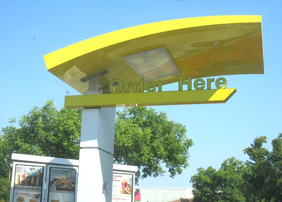 McDonalds Drive Through Lane, Morgan Hill, Ca