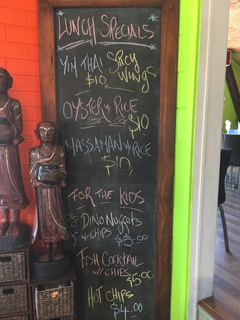 Gloucester, Australia: This week lunch specials