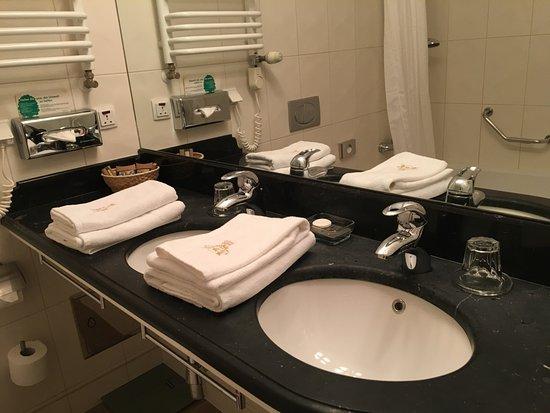 Hotel Grodek: double sinks