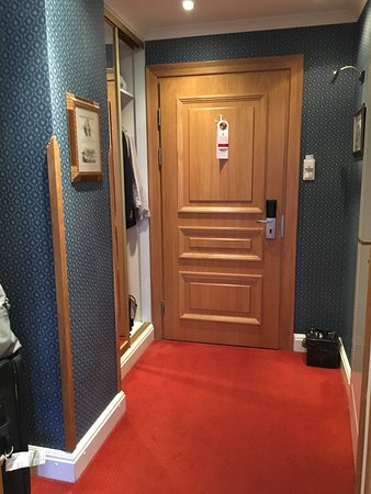 Hotel Grodek: ample closet space and extra storage