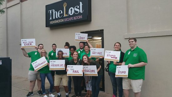 The Lost Escape Room Huntington West Virginia